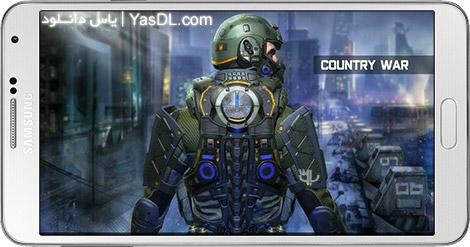 دانلود بازی Country War : Battleground Survival Shooting Games 1.4 - نبرد زمینی کشورها برای اندروید + دیتا