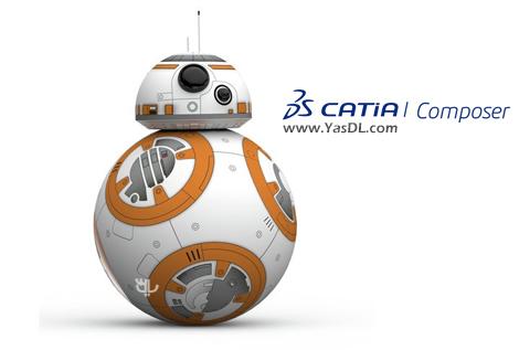 دانلود DS CATIA Composer R2019 Build 7.6.0.1427 x64 - مستندسازی و معرفی محصولات