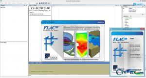 دانلود FLAC3D 5.0 - مدل سازی سنگ و خاک