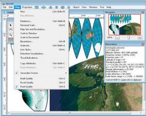 دانلود Mapthematics GeoCart 3.2.0 - نمایش نقشه بر روی مختصات جغرافیایی