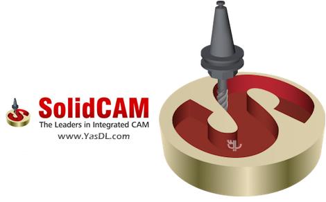 دانلود SolidCAM 2019 SP2 x64 - نرم افزار طراحی و شبیه سازی صنعتی