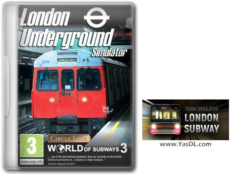 دانلود بازی Train Simulator London Subway برای PC