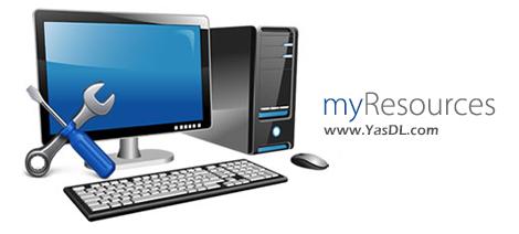 دانلود myResources 1.1.0.2 - نظارت بر منابع سخت افزاری سیستم