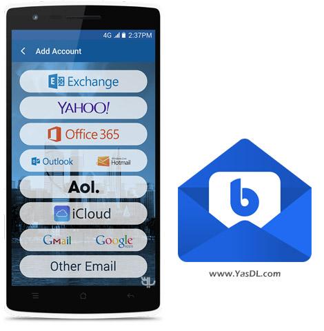 دانلود Blue Mail - Email & Calendar App 1.9.4.66 - نرم افزار مدیریت ایمیل برای اندروید