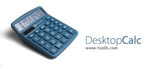 دانلود DesktopCalc 2.1.29 - ماشین حساب پیشرفته برای ویندوز