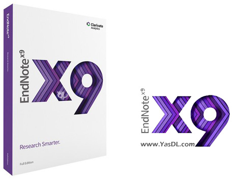 دانلود Endnote X9 نرم افزار مدیریت اطلاعات و مستندات