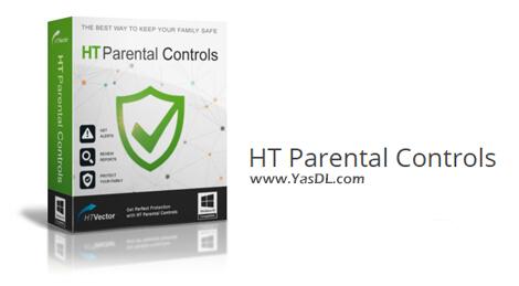 دانلود HT Parental Controls 14.7.6 - نرم افزار نظارت بر فعالیت فرزندان در کامپیوتر