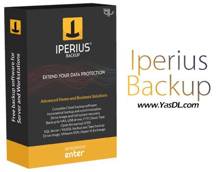 دانلود Iperius Backup Full 5.7.2 - ابزار تهیه فایل پشتیبان
