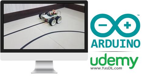 دانلود پروژه ربات دنبال کننده خط به همراه فیلم آموزشی برای آردوینو