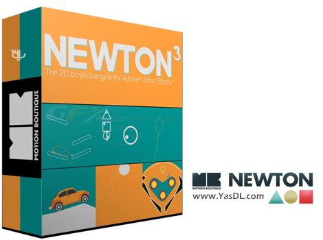دانلود Motion Boutique Newton 3.0.69 - پلاگین نیوتون برای افتر افکت