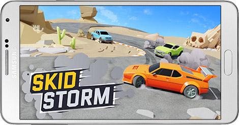 دانلود بازی SkidStorm 1.0.101 - طوفان ماشین ها برای اندروید + پول بی نهایت