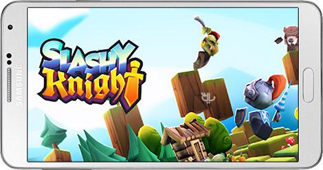 دانلود بازی Slashy Knight 1.3.0 - شوالیه اسلش برای اندروید + نسخه بی نهایت