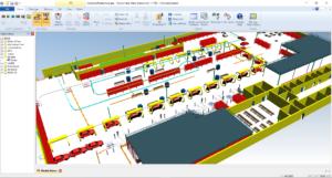 دانلود Siemens Tecnomatix Plant Simulation 14.2 - شبیه ساز ماشین آلات صنعتی
