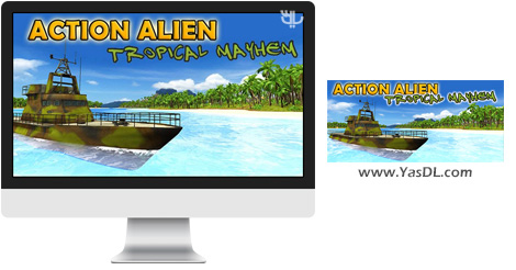 دانلود بازی Action Alien Tropical Mayhem برای PC
