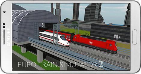 دانلود بازی Euro Train Simulator 2 1.0.5.6 - شبیه ساز قطار اروپایی 2 برای اندروید + نسخه بی نهایت