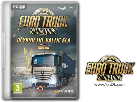 دانلود بازی Euro Truck Simulator 2 Beyond the Baltic Sea برای PC