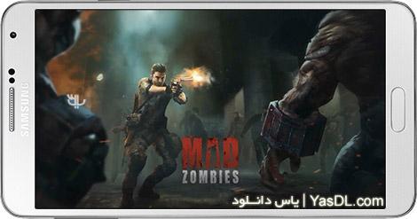 دانلود بازی MAD ZOMBIES: Offline Zombie Games 5.5.0 - زامبیهای دیوانه برای اندروید + نسخه بی نهایت