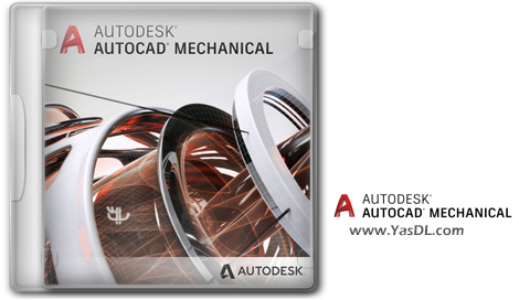Autodesk AutoCAD Mechanical 2021 Mechanical Parts Design