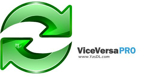 دانلود ViceVersa Pro 3.0 Build 3001 x86/x64 - همگام سازی و پشتیبان گیری از اطلاعات