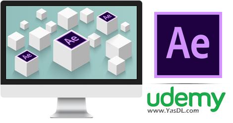دانلود آموزش انیمیشن سازی در فضای سه بعدی افتر افکت - Adobe After Effects CC 2018: Working & Animating in 3D Space
