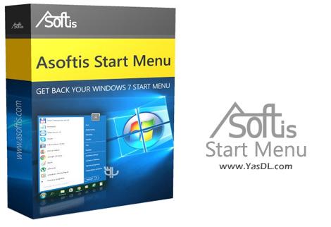 دانلود Asoftis Start Menu 2.5 - جایگزین کاربردی و قدرتمند برای استارت منوی ویندوز