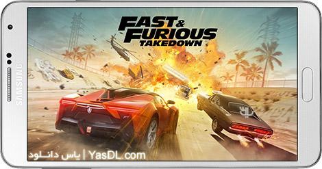 دانلود بازی Fast & Furious Takedown 1.0.50 - اتومبیلرانی سریع و خشن برای اندروید + دیتا
