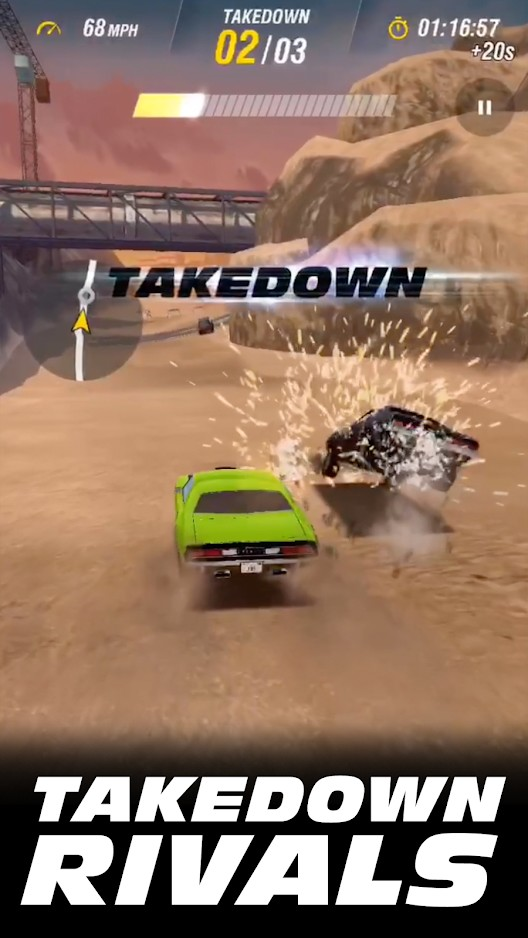 Game Fast U0026 Amp; Furious Takedown 1.7.01 For Android + Infinity Edition