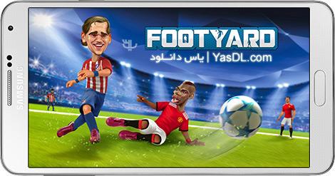 دانلود بازی فوتیارد 1.3.0 FootYard برای اندروید