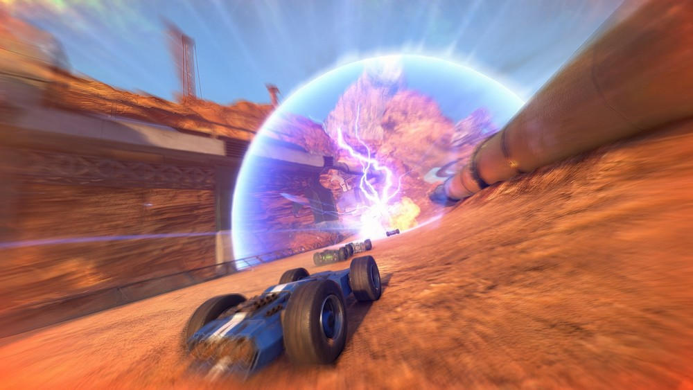 Play GRIP Combat Racing For PC
