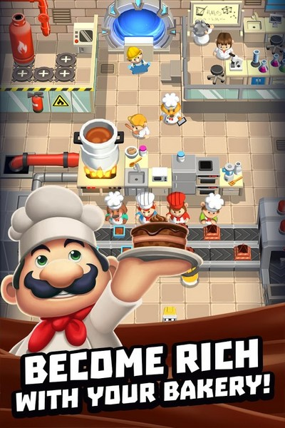 Idle Cooking Tycoon - Tap Chef 1 23 - Confectioner Simulator For