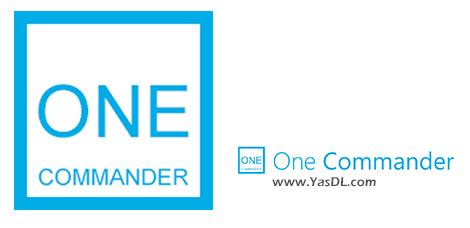 دانلود One Commander 2.4.5.1 - مدیریت حرفه ای فایل در ویندوز