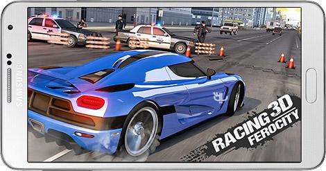 دانلود بازی Racing Ferocity 3D: Endless 1.4 - مسابقات اتومبیلرانی برای اندروید + نسخه بی نهایت