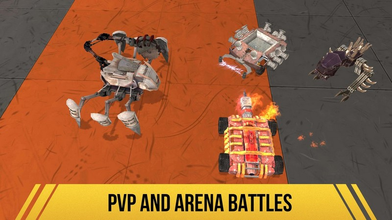 Robot Fighting 2 - Minibots 3D 2.5.0 For Android + Infinite Version