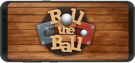 دانلود بازی Roll the Ball Slide Puzzle 1.7.56 - چرخش توپ برای اندروید + پول بی نهایت