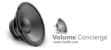دانلود Volume Concierge 2.1.2 - نرم افزار تنظیم هوشمندانه حجم صدا در ویندوز