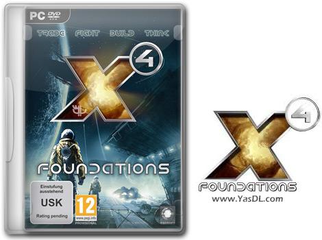 دانلود بازی X4 Foundations برای PC