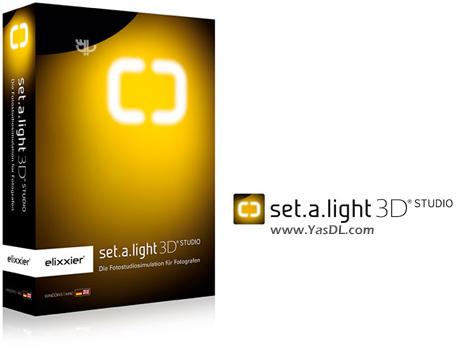 دانلود set.a.light 3D STUDIO 2.00.09 x64 - نرم افزار شبیه ساز استودیوی عکاسی