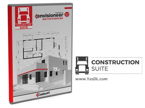 دانلود Cadsoft Envisioneer Construction-Suite 12.3 x64 - نرم افزار طراحی سه بعدی خانه