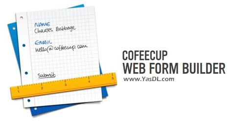 دانلود CoffeeCup Web Form Builder 2.9 Build 5525 - طراحی آسان فرمهای وب