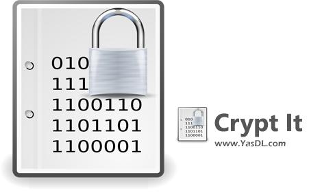 دانلود Crypt It 1.3.3.3 - نرم افزار رمزگذاری فایلها به صورت گروهی