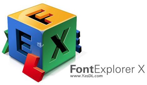 دانلود FontExplorer X Pro 3.5.4 Build 13961.5 - نرم افزار مدیریت فونت