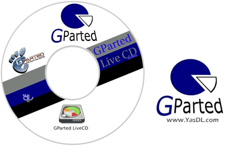 دانلود Gnome Partition Editor (GPartEd) Live 0.33.0-1 Stable - دیسک بوت پارتیشن بندی هارد دیسک