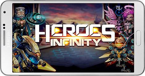 دانلود بازی Heroes Infinity: God Warriors 1.21.15 - قهرمانان ابدی برای اندروید + نسخه بی نهایت