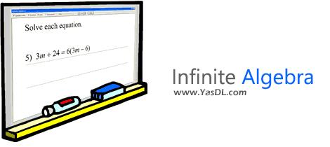 دانلود Infinite Algebra 1 v2.42 Retail + Portable - نرم افزار طراحی سوالات ریاضی