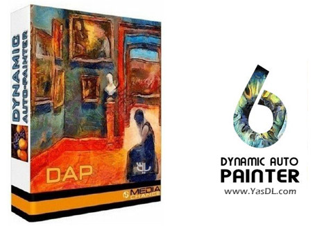 دانلود MediaChance Dynamic Auto Painter Pro 6.11 - نرم افزار تبدیل عکس به نقاشی