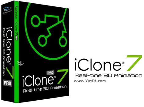 دانلود Reallusion iClone Pro 7.4.2419.1 - نرم افزار ساخت انیمیشنهای سه بعدی