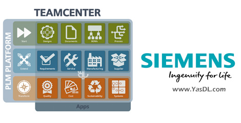 دانلود Siemenes PLM Teamcenter 12.0.20180710.00 x64 - نرم افزار مدیریت چرخه عمر محصول