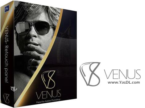 دانلود Venus Retouch Panel 2.0.0 - پلاگین رتوش و زیباسازی چهره برای فتوشاپ
