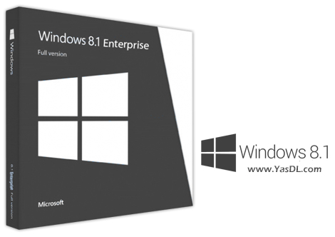 دانلود ویندوز 8.1 نسخه سازمانی - Windows 8.1 Enterprise X64 OEM December 2018