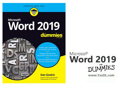 دانلود کتاب آموزش ورد 2019 به زبان ساده - Word 2019 For Dummies
